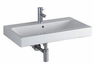 ICON umywalka z otworem z przelewem 750 x 485 mm biała