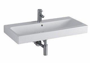 ICON umywalka z otworem z przelewem 900 x 485 mm biała