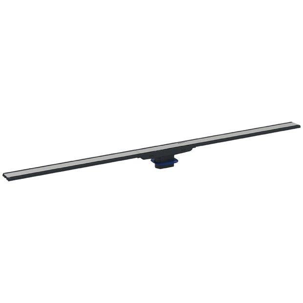 CleanLine60 rynna odpływu liniowego natrysków zbiorcza metal polerowany/metal szczotkowany 900 mm