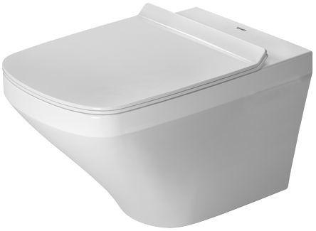 DuraStyle zestaw biały alpin zawiera: miskę wiszącą Duravit Rimless 255109, deskę sedesową soft 006379