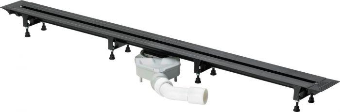 Advantix Vario odwodnienie prysznicowe 4966.10 z możliwością bezstopniowego dopasowania długości L= 300-1200 mm H=70-95 mm
