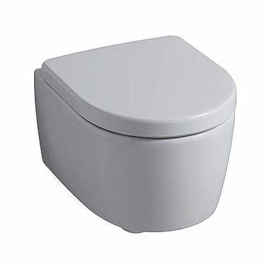 ICON deska sedesowa z tworzywa Duroplast z zawiasami metalowymi biała