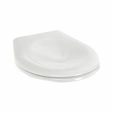 Nova Pro Junior deska sedesowa z tworzywa Duroplast antybakteryjna z zawiasami z tworzywa biała
