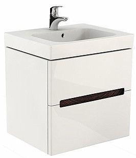 MODO szafka podumywalkowa wisząca 2 szuflady 590 x 479 x 550 mm biała połysk
