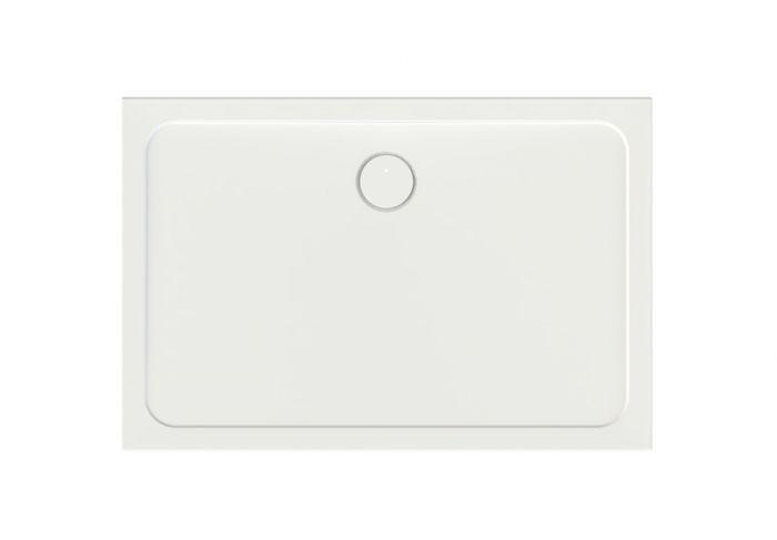 Free Line B/FREE 80x120x2,5+STB brodzik akrylowy prostokątny 120 x 80 x 2.5 cm biały EW stelaż STB
