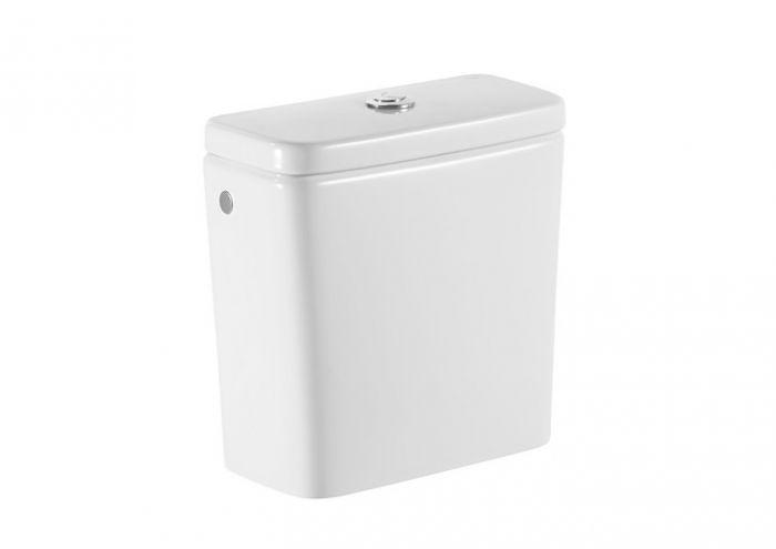 DEBBA zbiornik do kompaktu WC z dopływem lewym 34 x 16 x 36 cm biały 3/4,5 l
