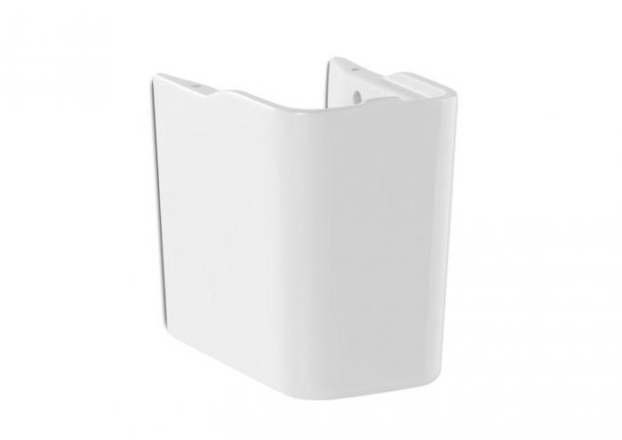 GAP półpostument do małych umywalek biały 170 x 235 x 290 mm z zestawem montażowym