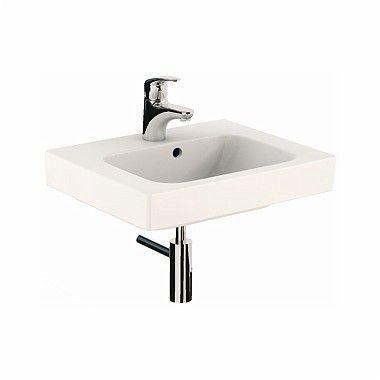 MODO umywalka wisząca z otworem z przelewem 500 x 400 mm biała