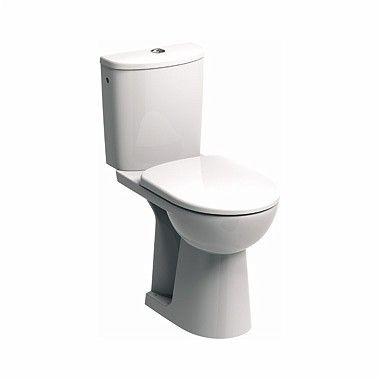 Nova Pro Bez Barier miska kompaktowa odpływ poziomy, dla osób niepełnosprawnych 35.6 x 66.5 x 46 cm biała