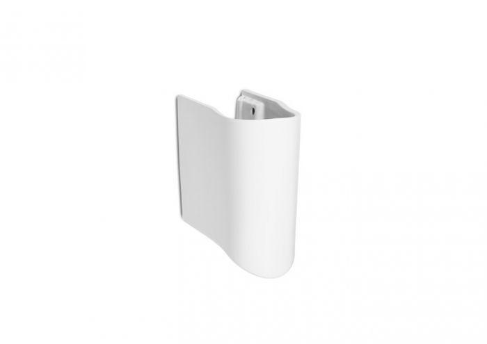NEXO półpostument biały 170 x 290 x 340 mm z zestawem montażowym