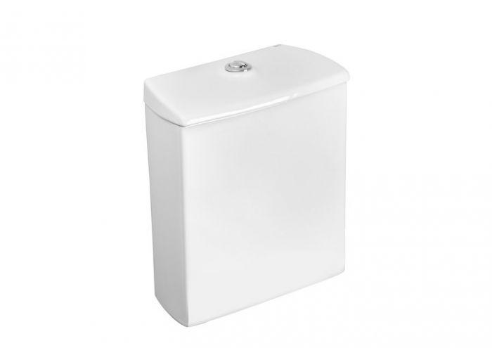 NEXO zbiornik do kompaktu WC dopływ lewy z dołu 37.5 x 17 x 40 cm biały 3/6 l