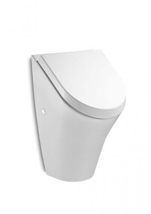 NEXO pisuar z pokrywą wolnoopadającą z dopływem z tyłu 31 x 28 x 49 cm biały z zestawem montażowym