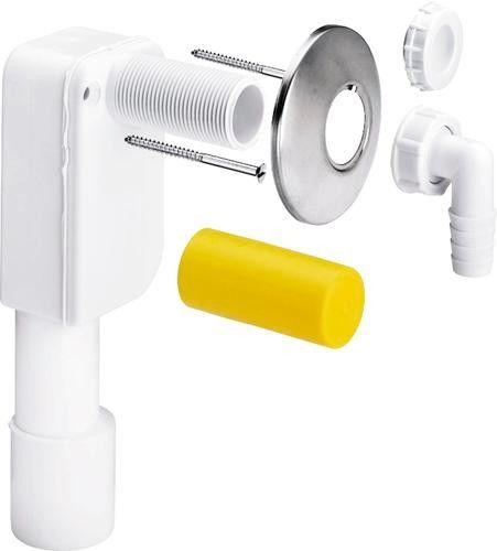 Syfon do pralki lub zmywarki podtynkowy z tworzywa sztuczego 5635.7 DN 40/50