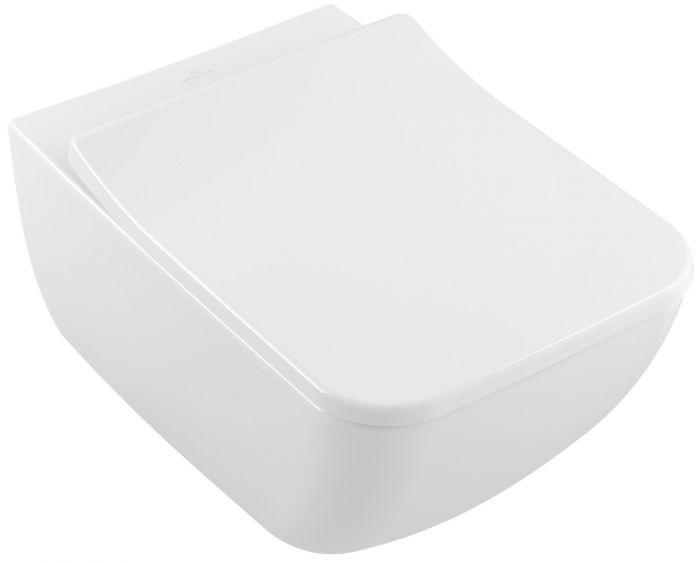 VENTICELLO combi-Pack podwieszany Weiss Alpin zawiera: miska DirectFlush 4611R001, deskę sedesową SoftClosing 9M79S101