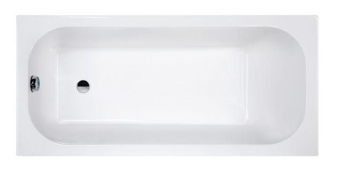 Free Line WP/FREE 70x130+STW  wanna akrylowa prostokątny 1300 x 700 mm biała EW ze stelażem STW