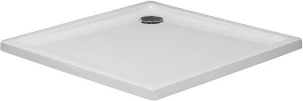 Xerano brodzik akrylowy kwadratowy 90 x 90 cm biały