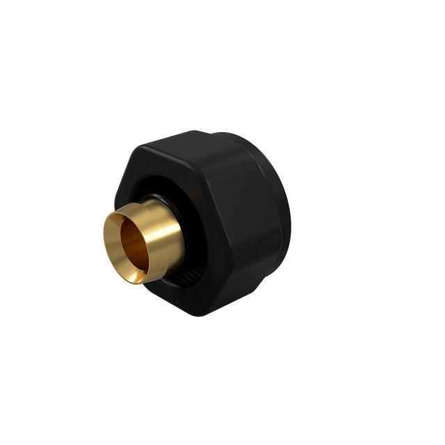 Złączka zaciskowa SKALAR do rury PEX 16x2 0557 black matt