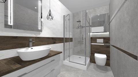 Mała łazienka Sanpol