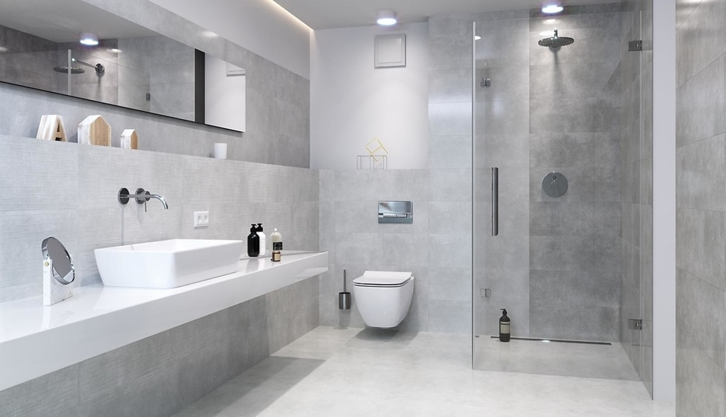 5 Pomysłów Na Efektowną łazienkę W Szarościach Sanpol