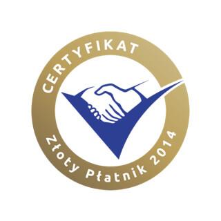certyfikat zloty platnik